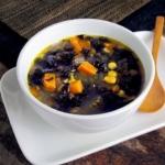 bowl of kale and potato soup