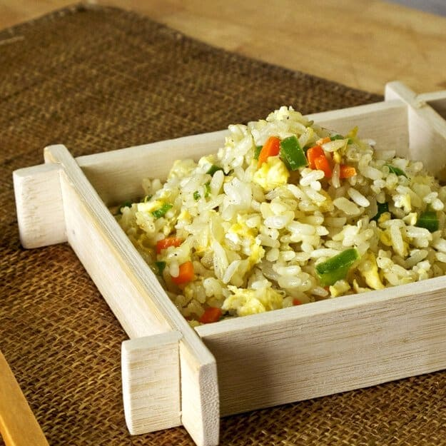 japanese veggie fried rice