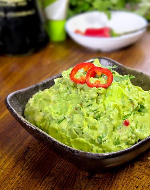 wasabi avocado guacamole morimoto