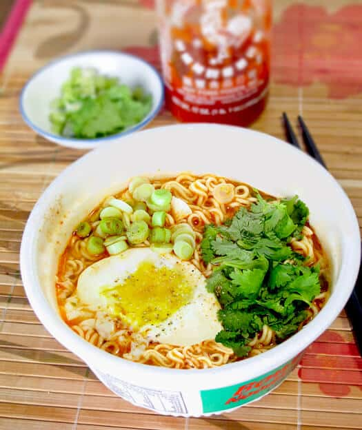 top ramen noodle soup