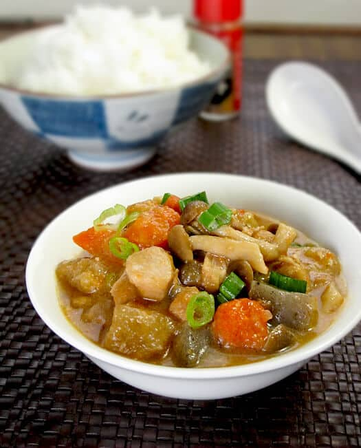 Japanese chicken vegetable stew - Pickled Plum