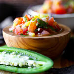 simple fresh salsa