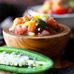 simple fresh salsa