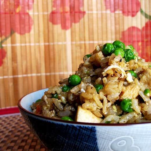 japanese chicken fried rice