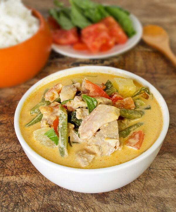 Thai Red Curry with Duck Recipe - Pickled Plum Food And Drinks