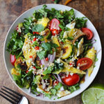 THAI EGG AND BRUSSELS SPROUT SALAD