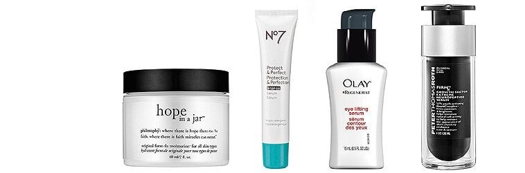 Affordable anti-aging products