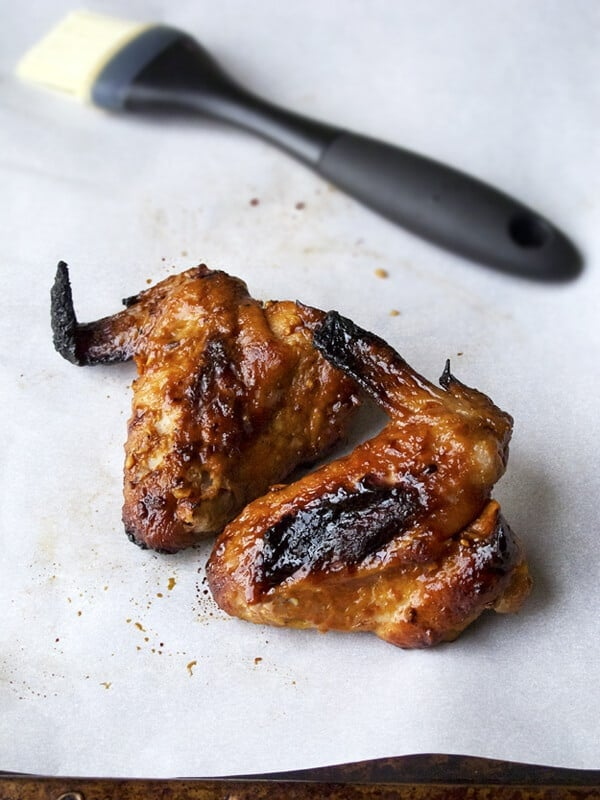 Korean chicken wings (oven baked) - Pickled Plum