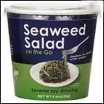 JAPANESE DELIGHT SEAWEED SALAD. Sesame and soy flavor, no MSG, all natural and low in calories. BUY NOW