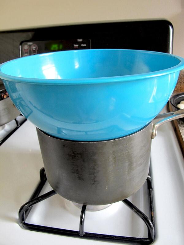 bowl over pot