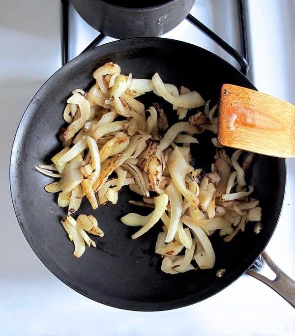 fennel pan frying