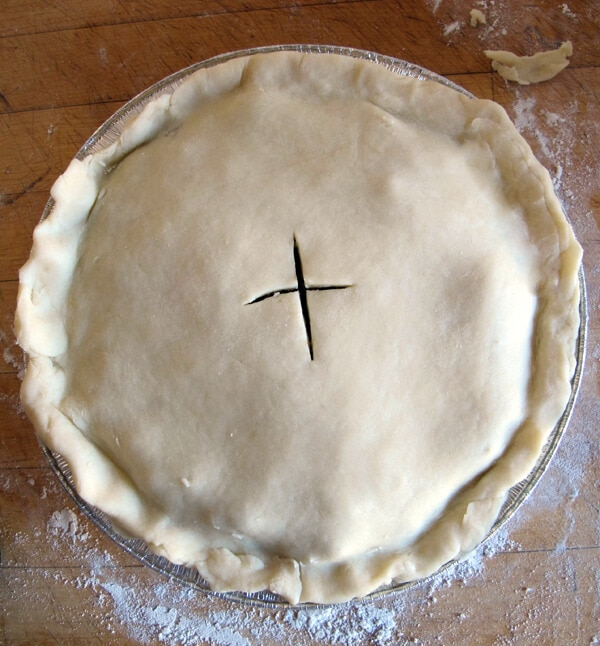pie top closed