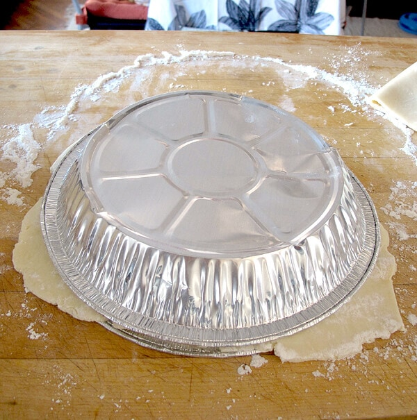 shell on dough