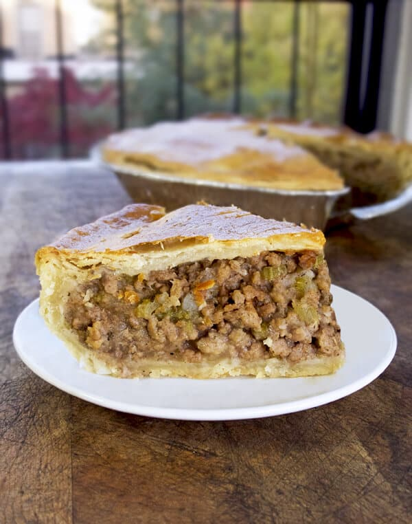 Turkey Tourtiere (meat pie) - Pickled Plum Food And Drinks