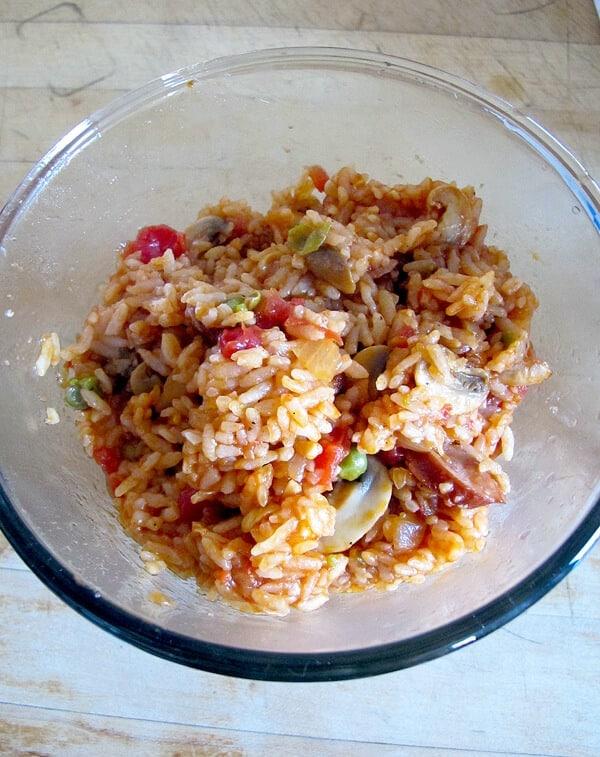 ketchup fried rice