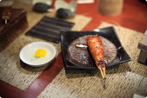 tsukune at yakitori Totto