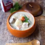 Japanese creamy chicken stew