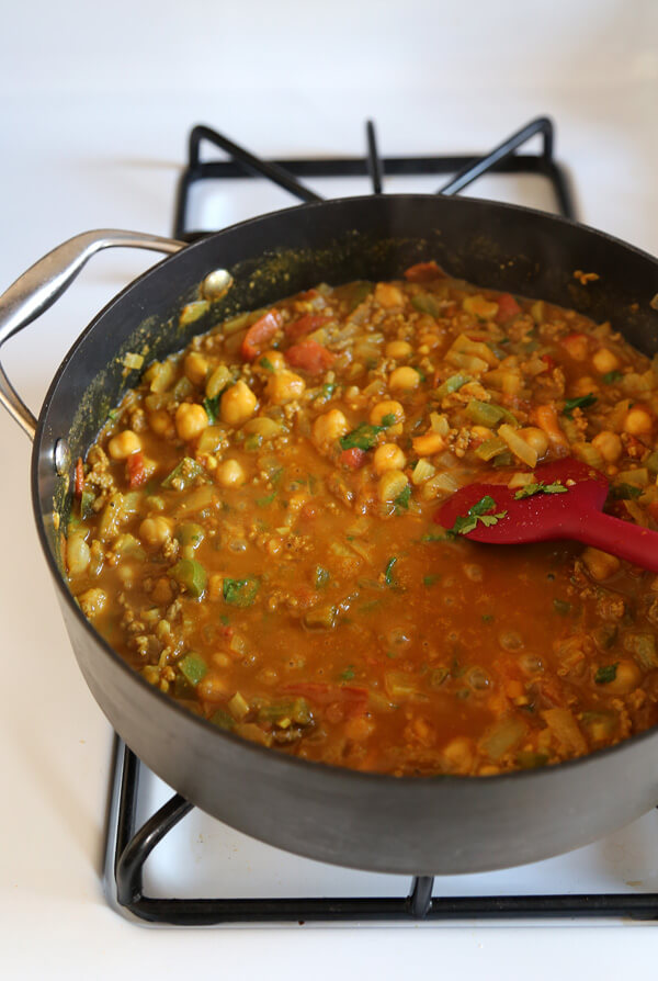 curry cooking