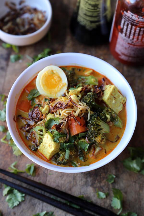Vegetarian curry (Thai recipe) - Pickled Plum