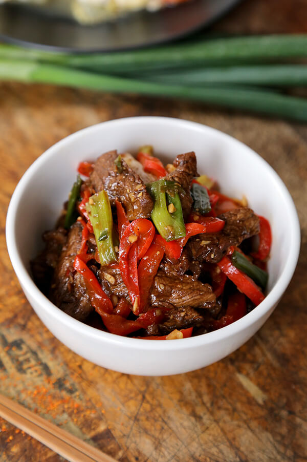 Stir Fry Beef with Spicy Hoisin Sauce