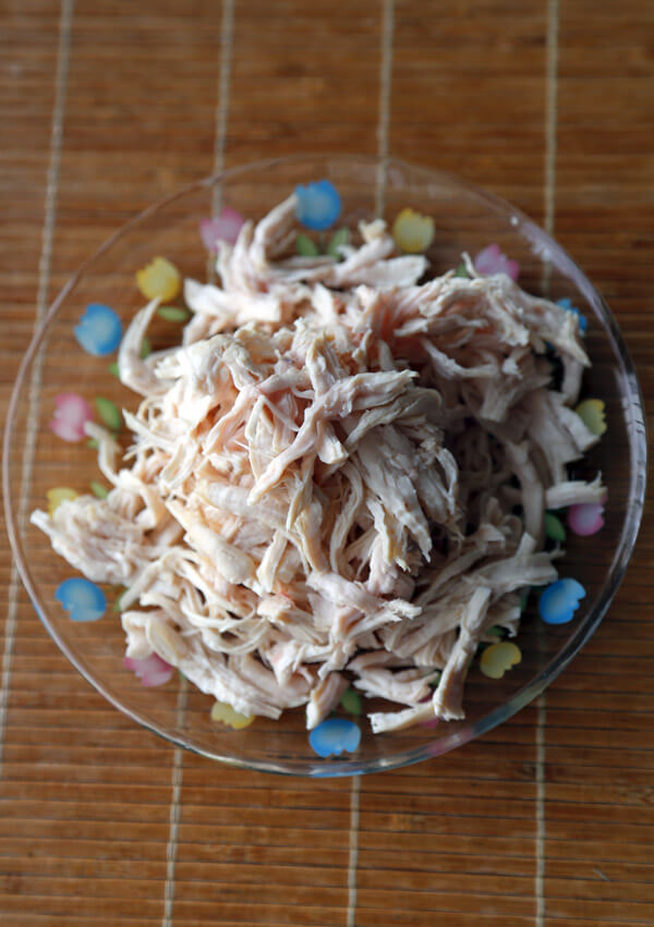 chicken-shredded