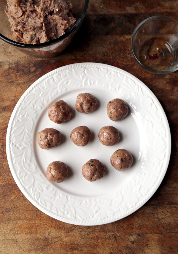 rolled-meatballs