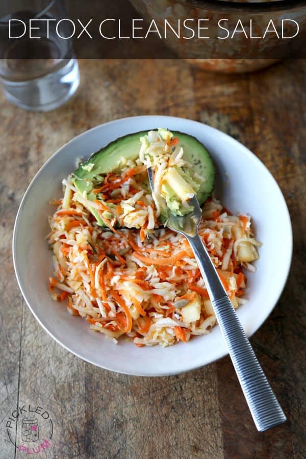 detox cleanse salad recipe
