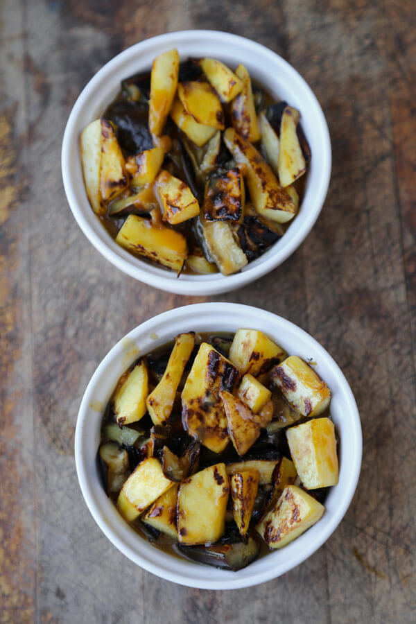 kabocha-eggplant-sauce