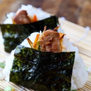 Onigiri Recipe: Chicken and Spicy Mayo