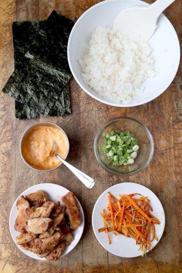 Onigiri Filling Ideas Onigiri Recipe: Chicke...