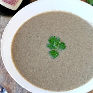 Homemade Mushroom Soup Recipe (Cream-Free)