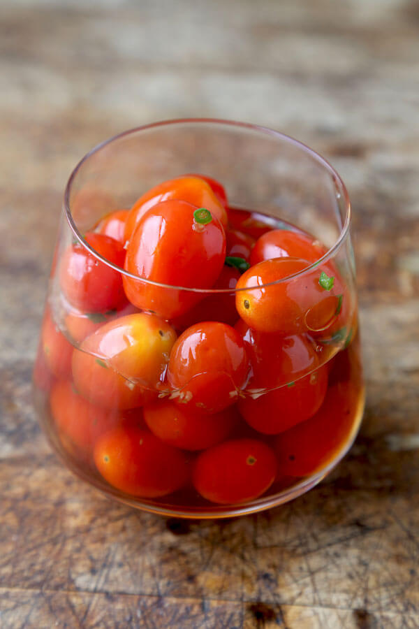 Pickled Cherry Tomatoes (Thai Style) - Pickled Plum
