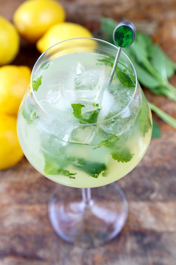 Mint Lemonade Recipe (...