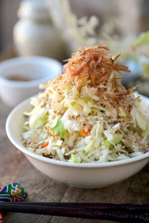 Japanese Cabbage Salad - Coleslaw