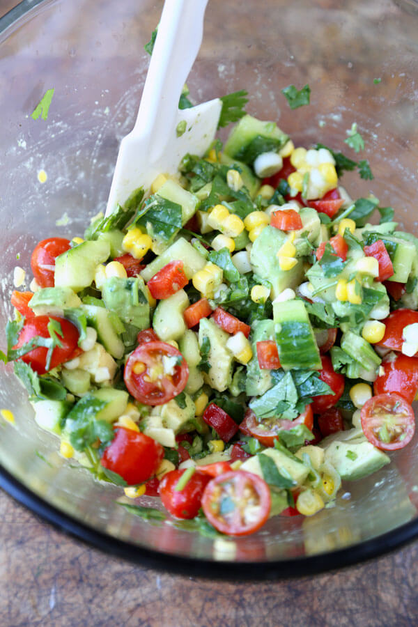 Summer Rainbow Salad RecipePickled Plum