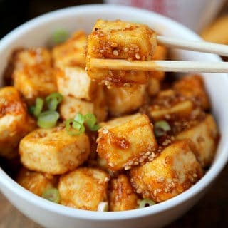 House Foods Honey Sriracha Tofu