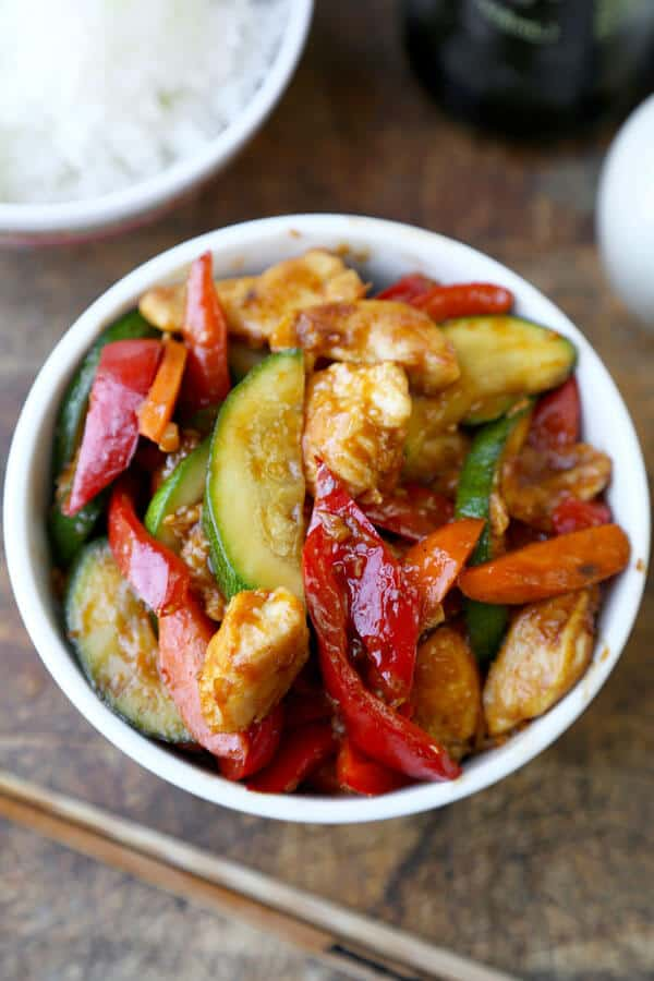 Hunan Shrimp Recipe hunan chicken recipe - pickled plum