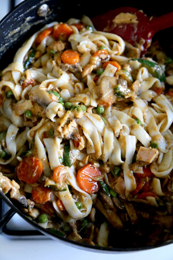 Shirataki Tuna Noodle Casserole Recipe