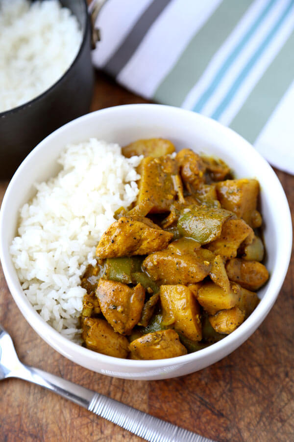 Jamaican chicken curry pickled plum food and drinks jamaican chicken curry forumfinder Gallery