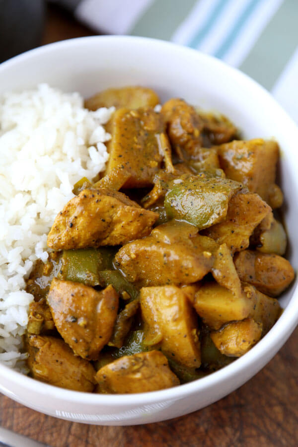 Jamaican chicken curry pickled plum food and drinks jamaican chicken curry hotttt this jamaican chicken curry recipe will hit the spot if forumfinder Images