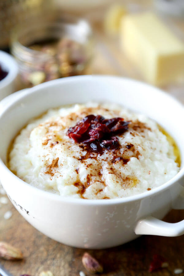 Norwegian porridge risgr t pickled plum food and drinks - Norwegian cuisine recipes ...