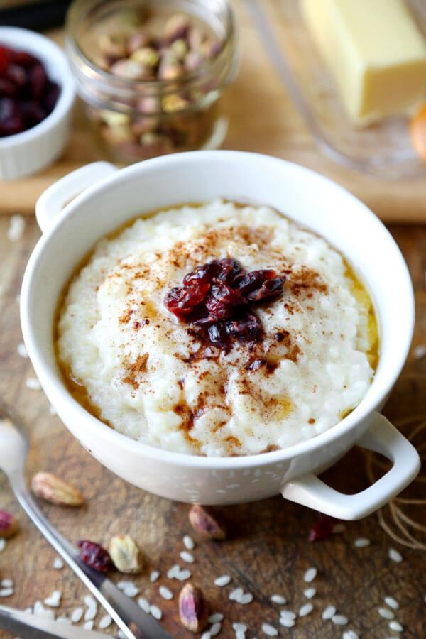 Norwegian porridge risgrt pickled plum food and drinks norwegian porridge risgrot this is a traditional recipe for norwegian rice pudding thats forumfinder Gallery