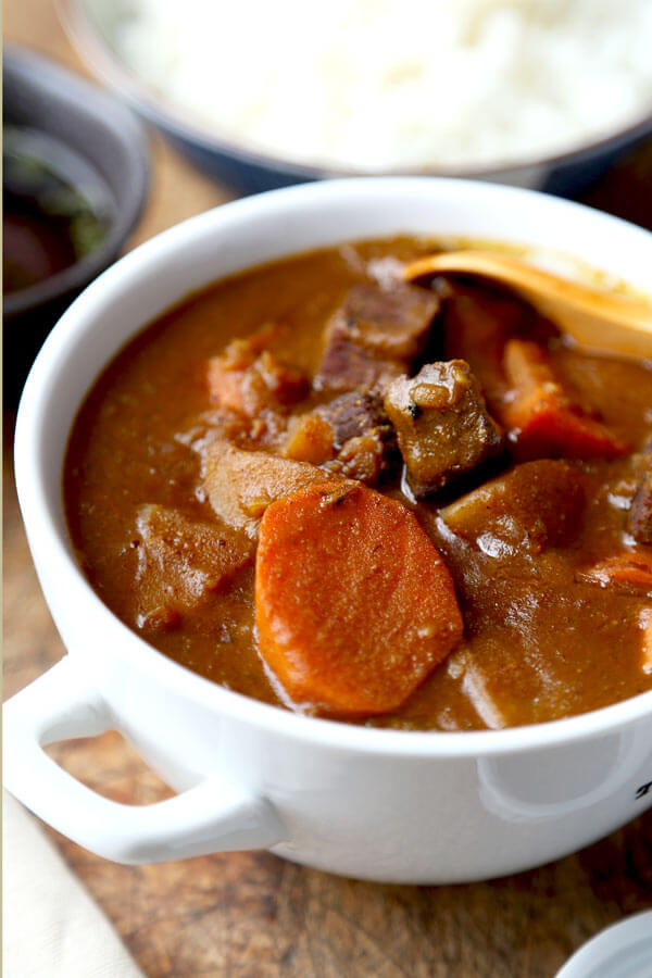 Japanese curry recipe pickled plum food and drinks japanese curry recipe homemade japanese curry thats a little spicy and deliciously sweet forumfinder Images