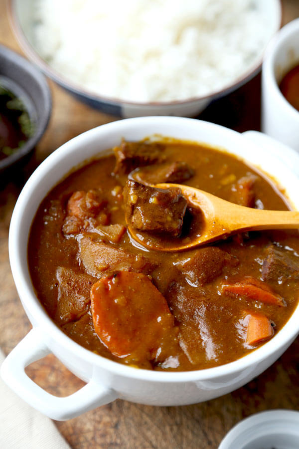 Japanese curry recipe pickled plum food and drinks japanese curry recipe forumfinder Images