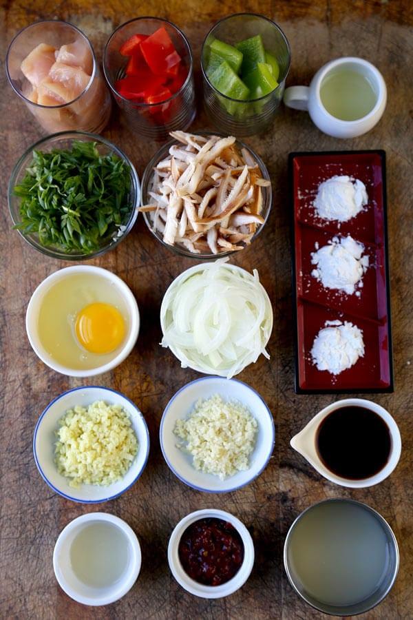 szechuan-chicken-ingredients