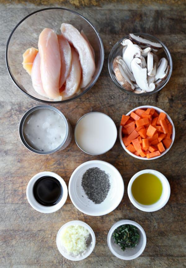 cream-of-mushroom-chicken-ingredients
