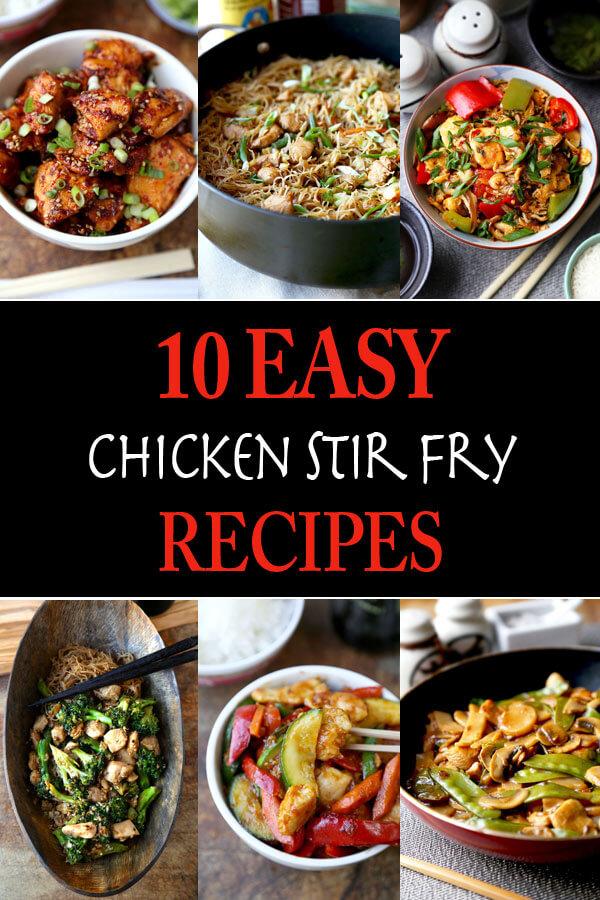 Easy chicken stir fry recipes
