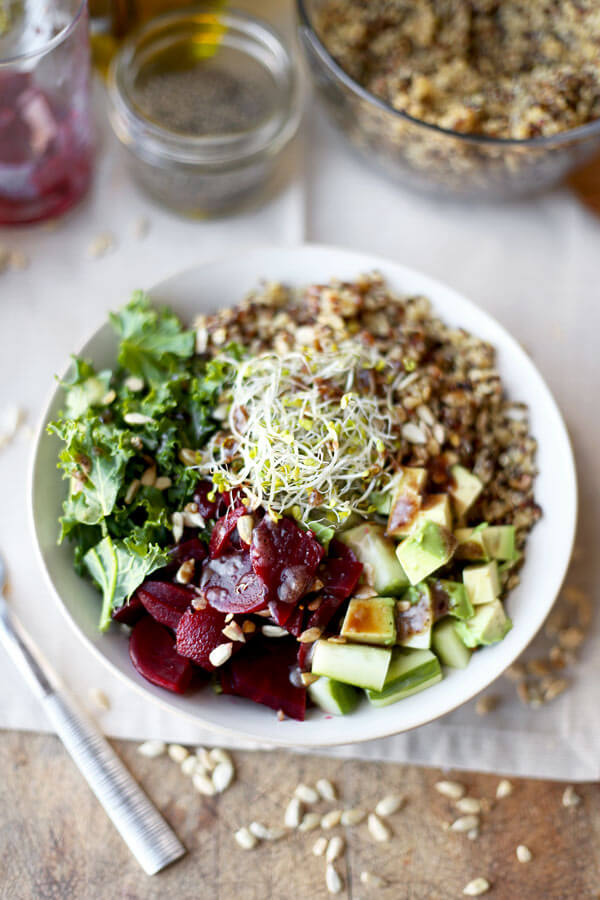 Detox kale and quinoa salad recipe pickled plum food and drinks detox kale and quinoa salad recipe forumfinder Gallery