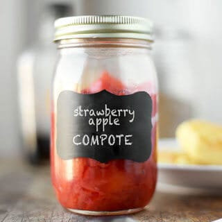Sweet-Tart Strawberry Apple Compote