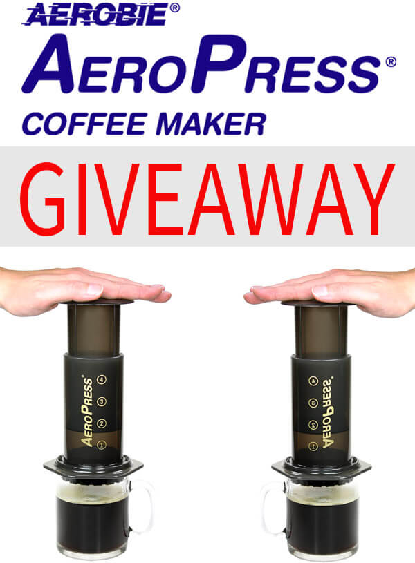 AeroPress Coffee Maker Giveaway - Pickled Plum Food And Drinks